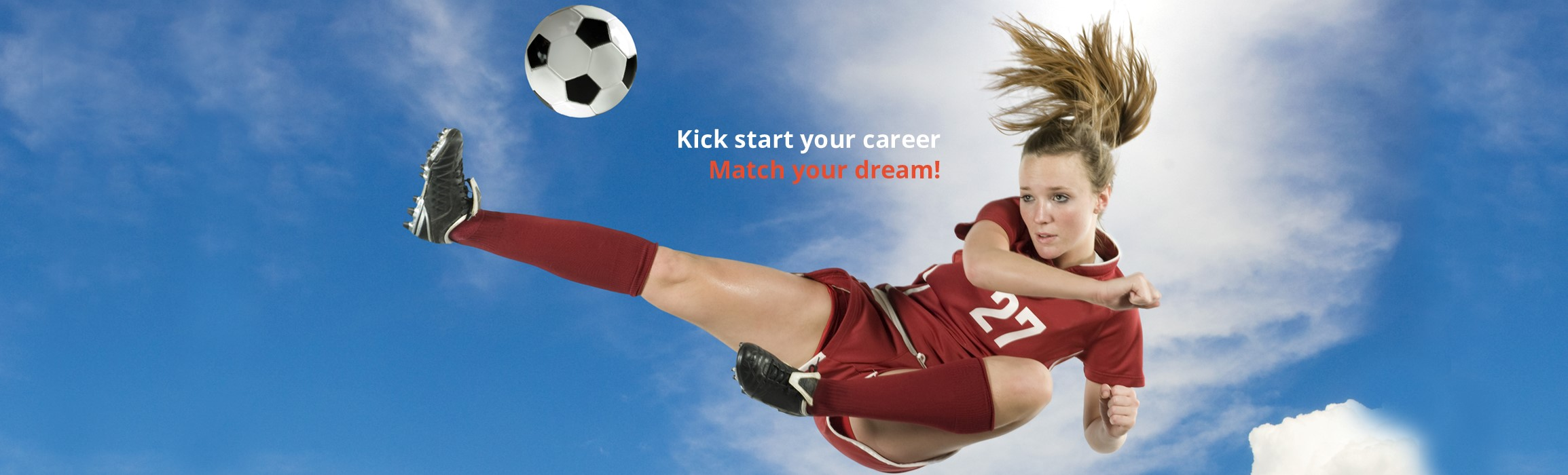 Get a free kick to your career.